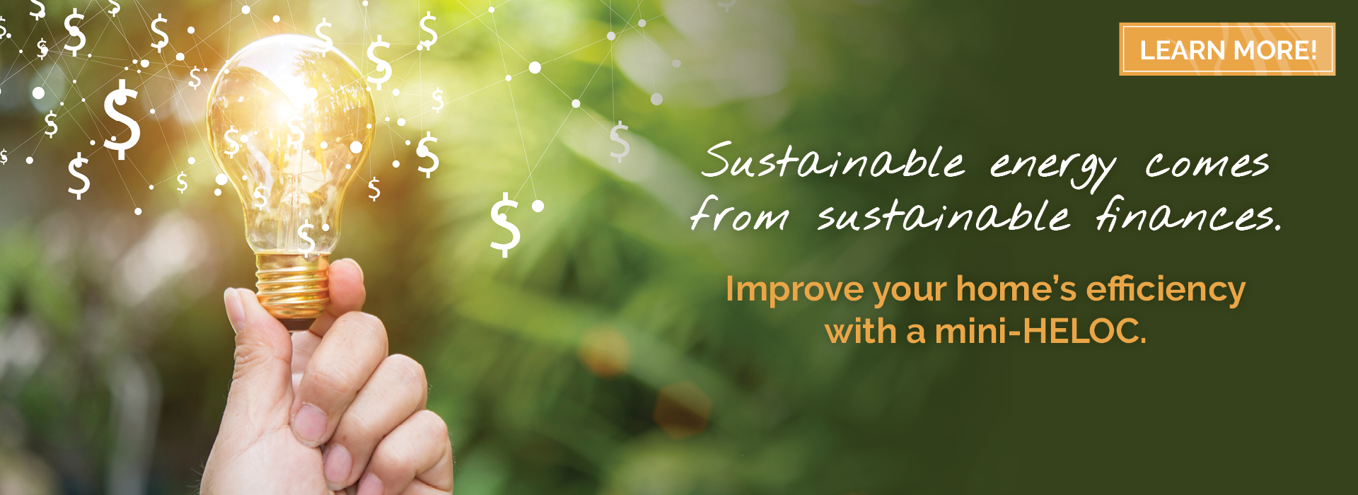 Sustainable finances